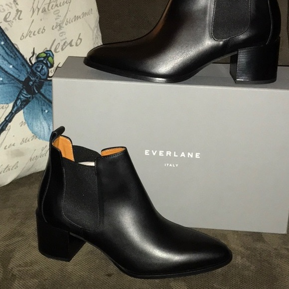 Everlane Italian Leather Boots   Nwt by Everlane